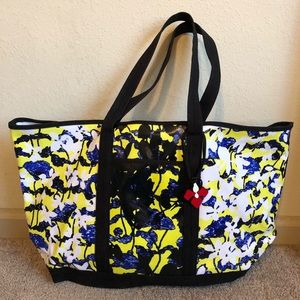Peter Pilotto Coated Canvas Beach Bag Large Tote